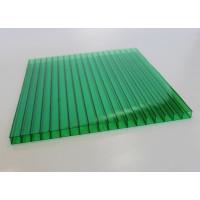 Сотовый поликарбонат Polygal (зеленый), 10мм, м2