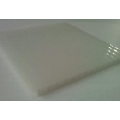 Сотовый поликарбонат Vizor (опал), 6мм, м2