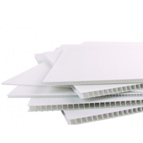 Полипропиленовый лист - 3мм (550гр/м2) белый (м2)