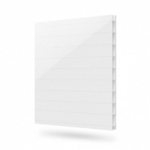 Сотовый поликарбонат Berolux (белый), 4мм, м2