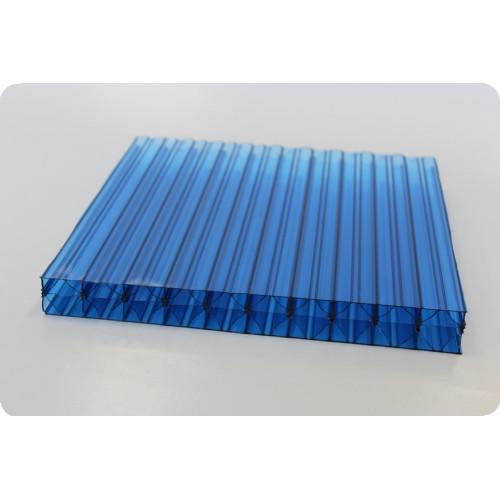 Купить Сотовый поликарбонат Berolux (синий), 20мм, м2