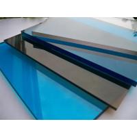 Монолитный поликарбонат Borrex (синий), 3мм, м2