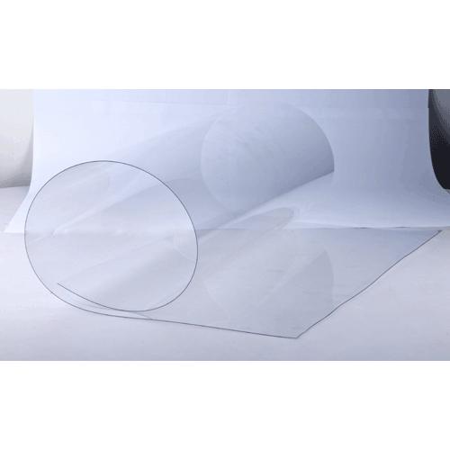 ПВХ без защитной пленки (прозрачный), 0.4мм, м2