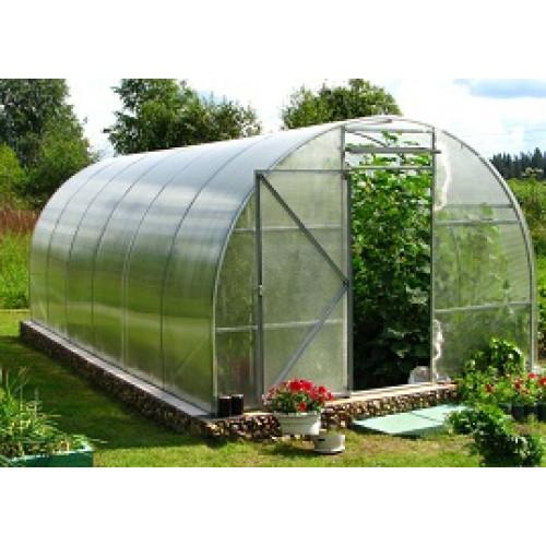 Теплица под поликарбонат «Садовод Агро 1М» 3х4х2 м с оцинкованного профиля