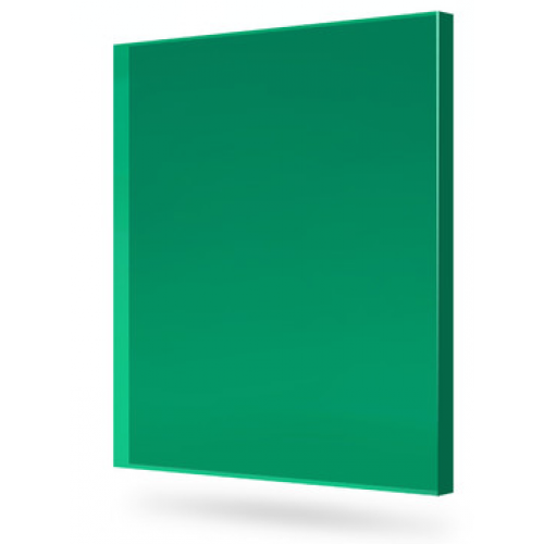 Купить Монолитный поликарбонат Marlon (зеленый), 8 мм, 2050 х 3050 мм, шт