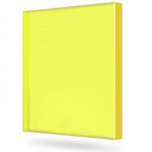 Купить Монолитный поликарбонат Marlon (желтый), 12 мм, 2050 х 3050 мм, шт